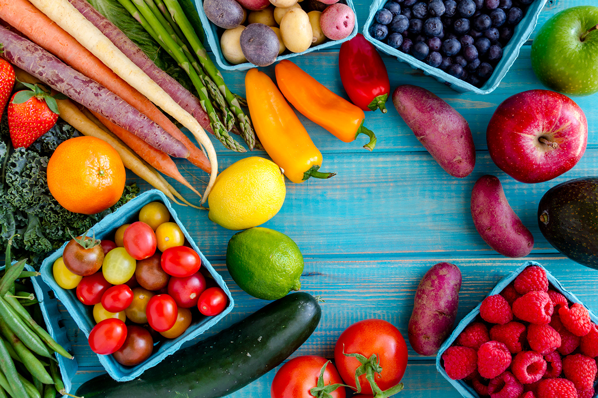 Healthy Living – Fruits and Veggies